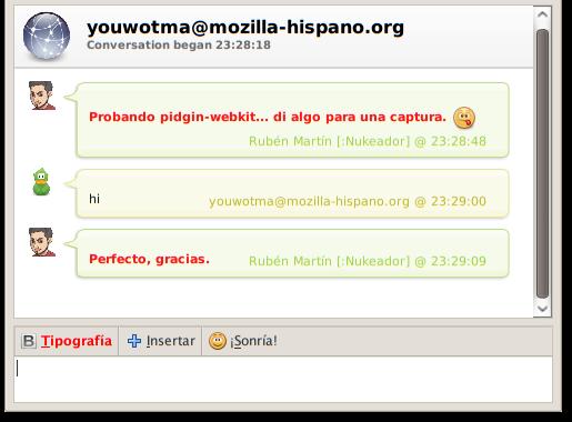 pidgin-webkit
